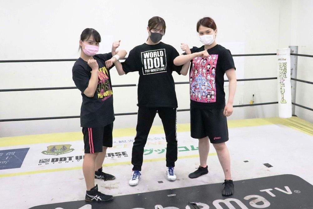 東京女子5・4後楽園で本格デビューのSKE48荒井優希が公開練習「あん ...