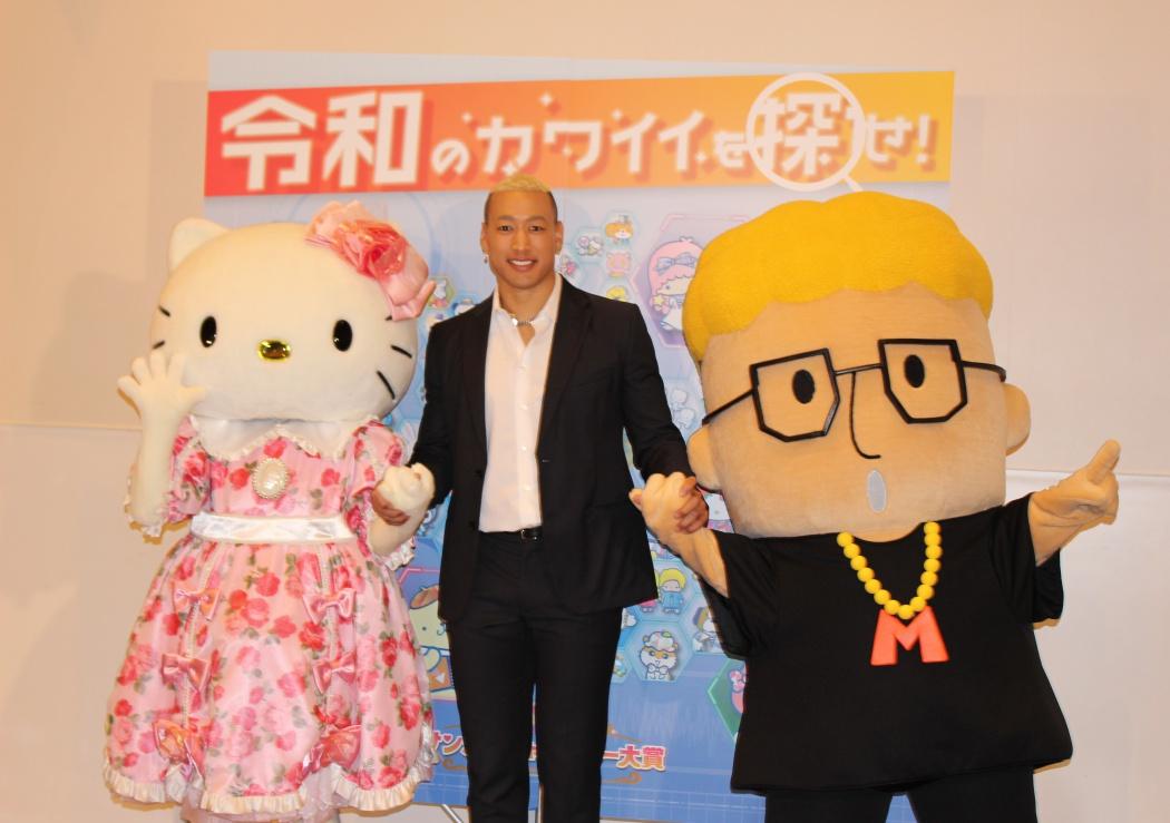 ハローメンディー サンリオキャラクターコラボ部門の頂点に 関口メンディー どっきりかと思った Tokyo Headline