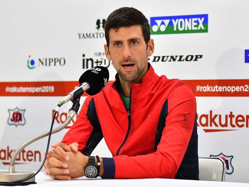 ジョコビッチ テニスは マインドゲーム 楽天オープン決勝へ