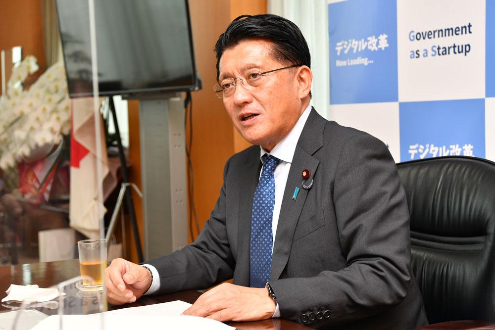 平井卓也デジタル改革担当大臣に聞く―「デジタル庁」創設への道のり